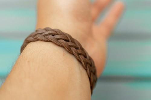 """Arm mit braunem """"Snake Belly"""", 3 mm"""